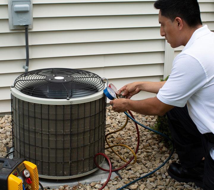 Service Area - Air Conditioning Repair Services
