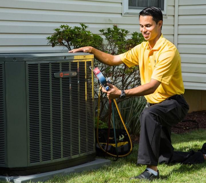 Professional HVAC Services - Air Conditioner Repair