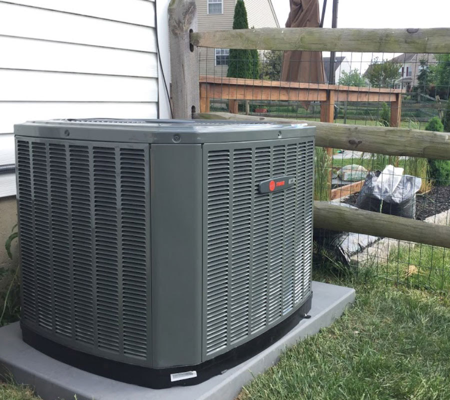 New AC System Installation